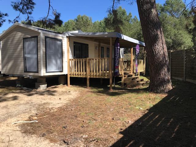 Ankara RIDEAU installé sur camping – Locat-Landes