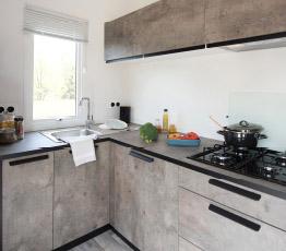 cuisine Bahia Duo Compact mobil home RIDEAU – Locat-Landes