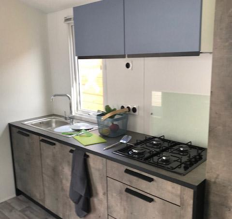 cuisine Malaga Terrasse intégrée RIDEAU – Locat-Landes