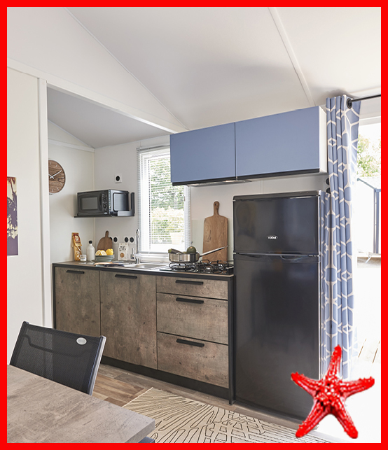 cuisine – bikini mobil home RIDEAU – locat-landes