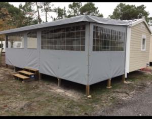 modèle terrasse 7.5 x3 couverte et fermée