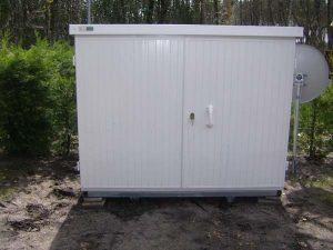 photo coffre abri PVC modèle OYAT normes camping
