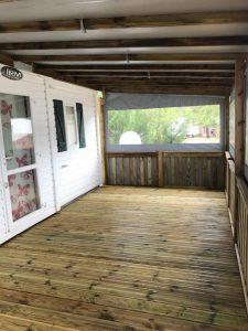 photo plancher de terrasse bois