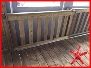portillon terrasse bois bisca