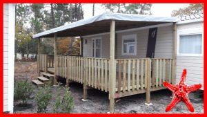 terrasse bois bisca 7.50 x 3 locat-landes