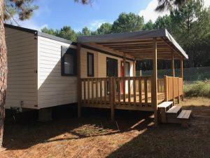 terrasse bois de qualité pour mobil home
