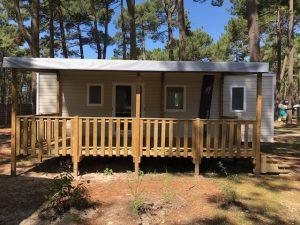 terrasse bois neuve 6 x 3 m couverte moins chère