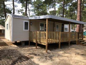 terrasse neuve en bois livrée et montée moins cher